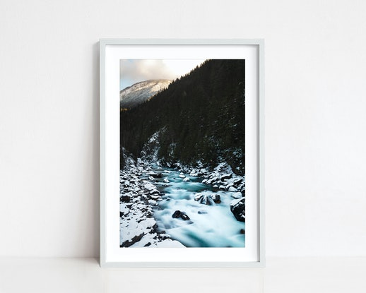 (CreativeWork) Illecillewaet Ed. 1 of 20 by Penny Prangnell. Photograph. Shop online at Bluethumb.