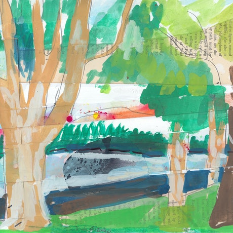 (CreativeWork) Rushcutters Bay by John Douglas. Other Media. Shop online at Bluethumb.