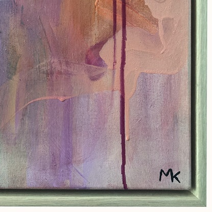 (CreativeWork) Undercover by Michelle Khourey. Acrylic Paint. Shop online at Bluethumb.