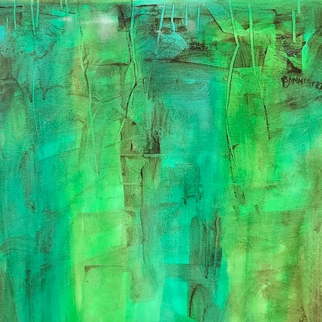 (CreativeWork) The emerald coast 2 by sue bannister. Oil Paint. Shop online at Bluethumb.