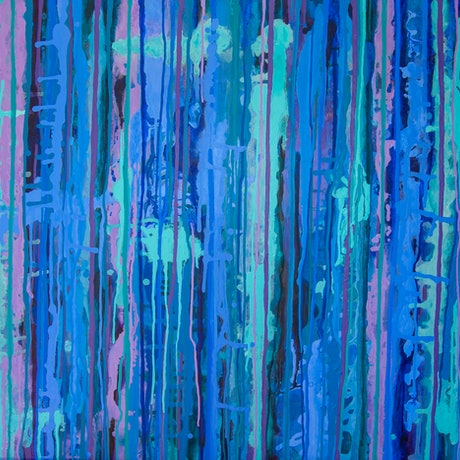(CreativeWork) Dusk Dreaming by Josephine Window. Acrylic Paint. Shop online at Bluethumb.