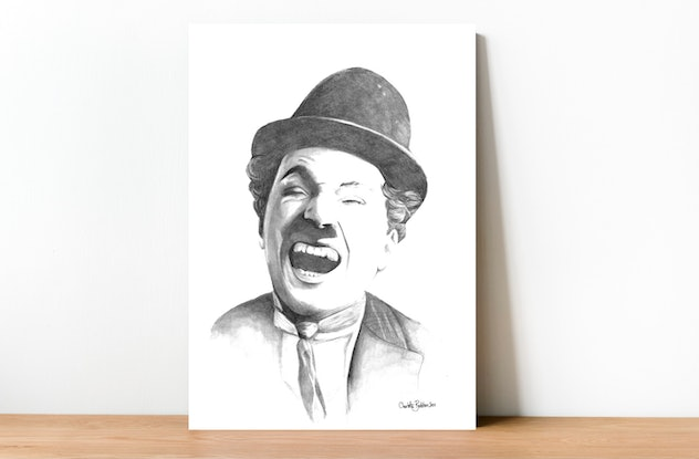 (CreativeWork) Charlie by Charlotte Beddoes. Drawing. Shop online at Bluethumb.