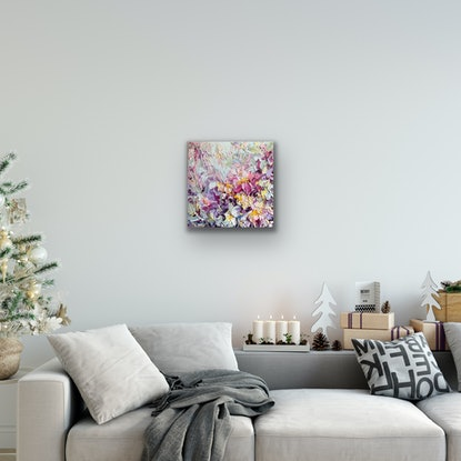 (CreativeWork) Bunch of love No 39 by Liliana Gigovic. Oil Paint. Shop online at Bluethumb.
