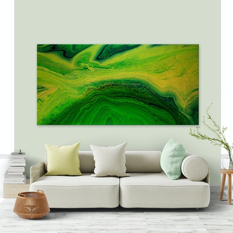(CreativeWork) Large Abstract - Sacred Earth Healing by Michelle Tracey. Acrylic Paint. Shop online at Bluethumb.