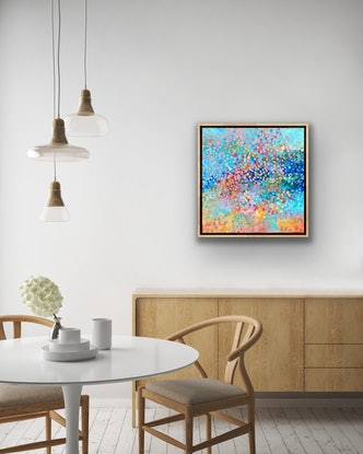 (CreativeWork) Vision of Beauty  FRAMED    by Theo Papathomas. Acrylic Paint. Shop online at Bluethumb.