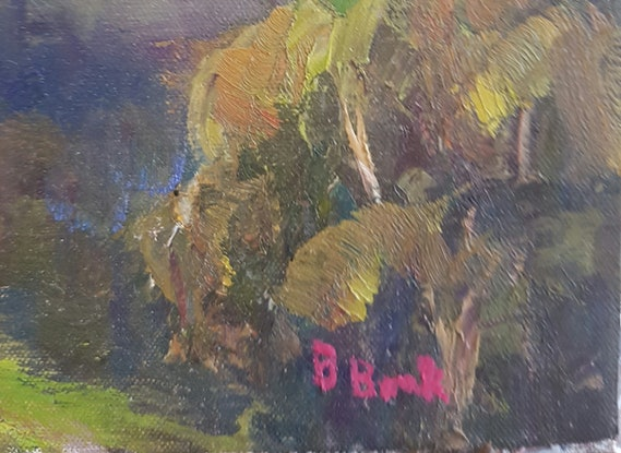 (CreativeWork) After The Rain. Glasshouse Mtns. Maleny. Qld by Barry Back. Oil Paint. Shop online at Bluethumb.