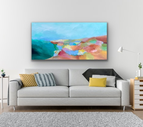 (CreativeWork) Morning has Broken  by Theo Papathomas. Acrylic Paint. Shop online at Bluethumb.