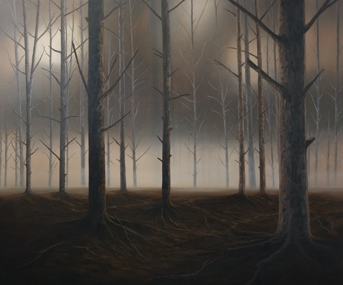 (CreativeWork) The first hour is the best by David Green. Acrylic Paint. Shop online at Bluethumb.