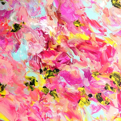 (CreativeWork) Life not as we know it by Estelle Asmodelle. Acrylic Paint. Shop online at Bluethumb.
