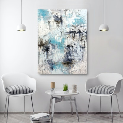 (CreativeWork) Lissome by Melanie Crawford. Acrylic Paint. Shop online at Bluethumb.