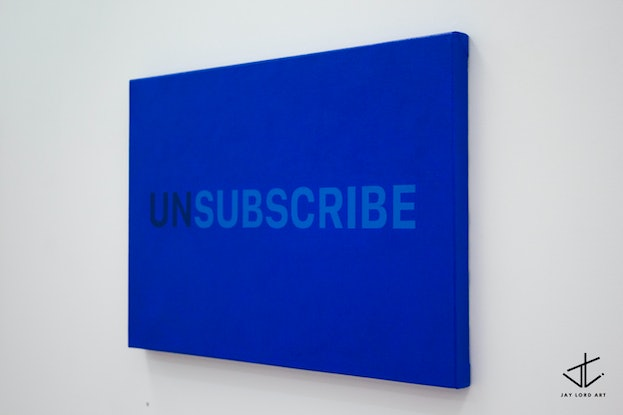 (CreativeWork) Subscribe by Jay Lord. Oil. Shop online at Bluethumb.