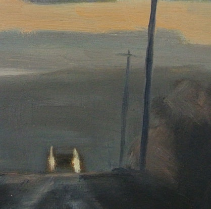 (CreativeWork) Wanneroo first light by David Green. Oil Paint. Shop online at Bluethumb.