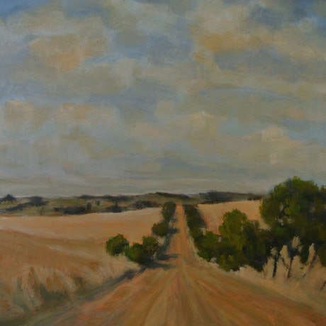 (CreativeWork) Toodyay by David Green. Oil Paint. Shop online at Bluethumb.