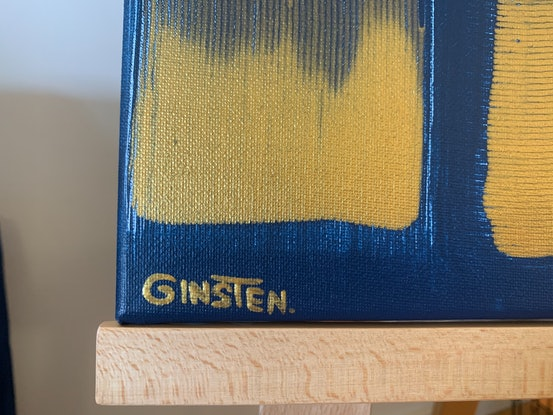 (CreativeWork) Rotation no.1 by Ginsten .. Acrylic Paint. Shop online at Bluethumb.
