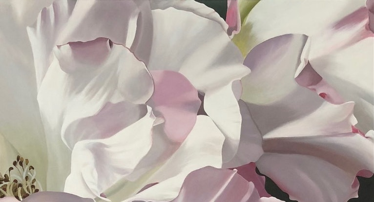 (CreativeWork) Summers Gift by Patricia Hillard. Acrylic Paint. Shop online at Bluethumb.