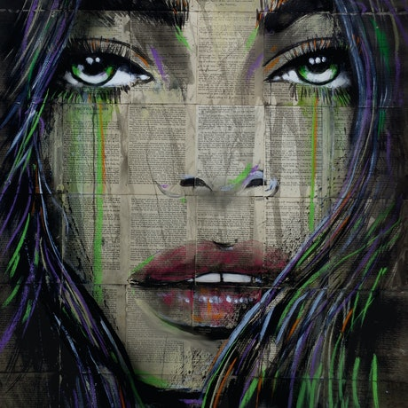 (CreativeWork) SEE LEVEL by loui jover. Mixed Media. Shop online at Bluethumb.