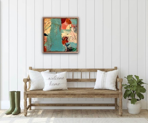 (CreativeWork) Let the Music Play by Amanda Ketterer. Acrylic Paint. Shop online at Bluethumb.