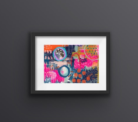 (CreativeWork) Down to the Playground Ed. 1 of 100 by Andrea Hurley. Print. Shop online at Bluethumb.