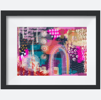 (CreativeWork) Just Breathe Ed. 1 of 100 by Andrea Hurley. Print. Shop online at Bluethumb.
