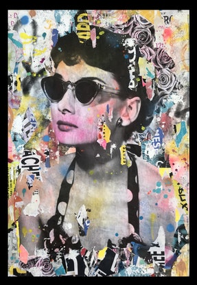 (CreativeWork) Street Icon 264 by Cold Ghost. Mixed Media. Shop online at Bluethumb.