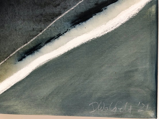 (CreativeWork) The Song Flows Deep in the River 1 by Dinah Wakefield. Acrylic Paint. Shop online at Bluethumb.