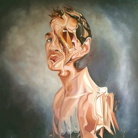 (CreativeWork) Man's Dissent by Jonny Southgate. Oil Paint. Shop online at Bluethumb.