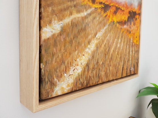 (CreativeWork) Burning off near Skipton by Kate Wise. Acrylic Paint. Shop online at Bluethumb.