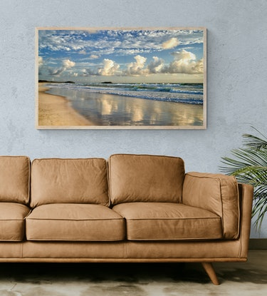(CreativeWork) Wommin Bay beach 1 Ed. 1 of 50 by Stuart Chape. Photograph. Shop online at Bluethumb.