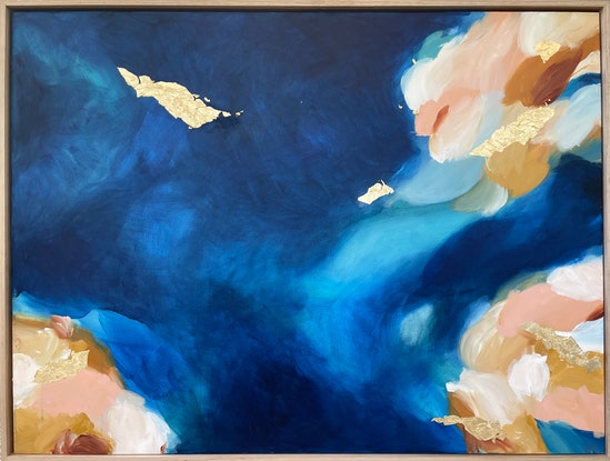 (CreativeWork) The Ripple Effect by Marnie McKnight. Mixed Media. Shop online at Bluethumb.