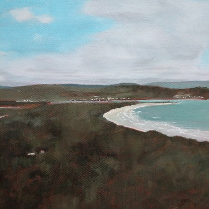 (CreativeWork) Narawntapu by Sandra Jenkins. Oil Paint. Shop online at Bluethumb.