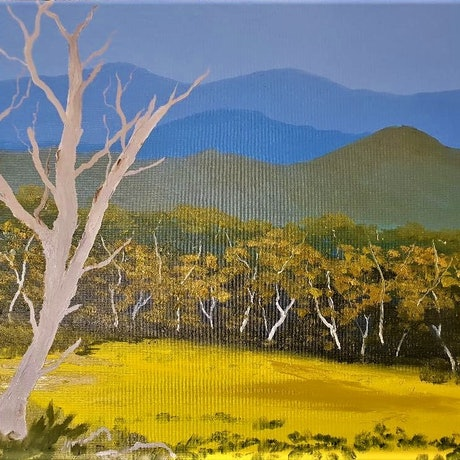 (CreativeWork) THE HIGH COUNTRY. by owen jones. Oil Paint. Shop online at Bluethumb.