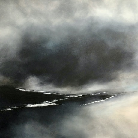 (CreativeWork) Wildest and Most Desolate by Grace Bardini. Acrylic Paint. Shop online at Bluethumb.