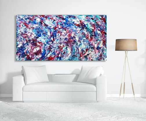 (CreativeWork) My Surrender by Estelle Asmodelle. Acrylic Paint. Shop online at Bluethumb.