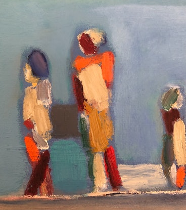 (CreativeWork) Sightseeing  by Susannah Bond. Oil Paint. Shop online at Bluethumb.