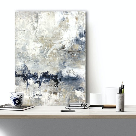 (CreativeWork) Saudade No. 2 by Melanie Crawford. Acrylic Paint. Shop online at Bluethumb.
