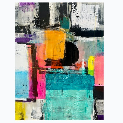 (CreativeWork) *ON SALE* Light & shade in Summer  by Brendon Mogg. Mixed Media. Shop online at Bluethumb.