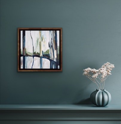 (CreativeWork) The Remedy No.4 by Michelle Keighley. Oil Paint. Shop online at Bluethumb.