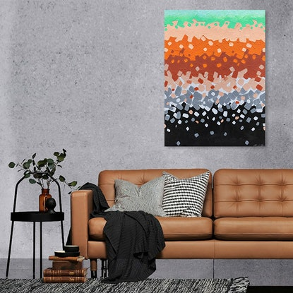 (CreativeWork) Our Great Southern Land by Andrea Marriette. Acrylic Paint. Shop online at Bluethumb.