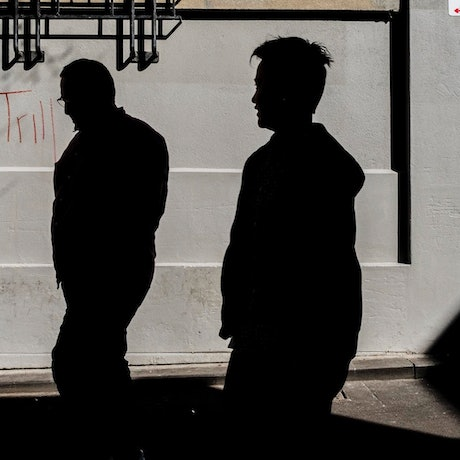(CreativeWork) Silhouettes and coffee Ed. 1 of 25 by Jaime Murcia. Photograph. Shop online at Bluethumb.