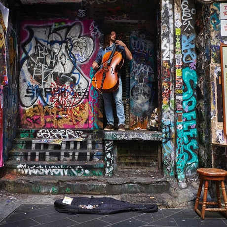 (CreativeWork) Cello art Ed. 1 of 25 by Jaime Murcia. Photograph. Shop online at Bluethumb.