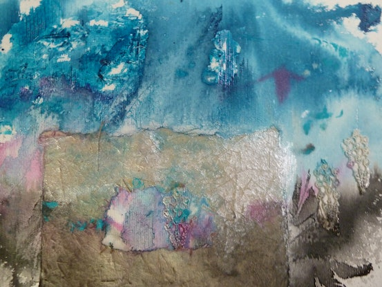 (CreativeWork) The Power of Nature - Spectacular Landscapes - wooly butt grass paper by Ruby Purple. Mixed Media. Shop online at Bluethumb.
