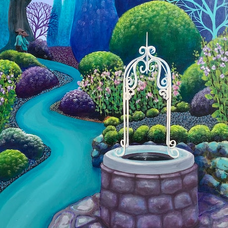(CreativeWork) Wishes do come true by Diane McDonald. Acrylic Paint. Shop online at Bluethumb.