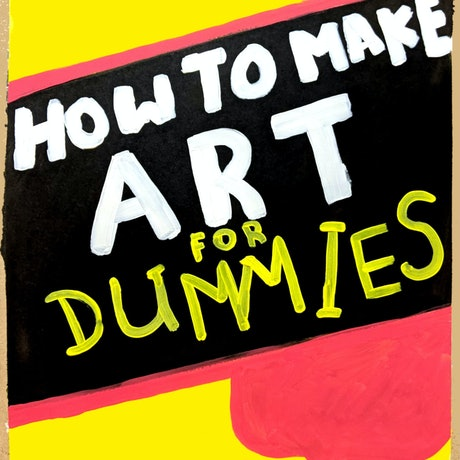 (CreativeWork) How to make art by Adam Mennella. Acrylic Paint. Shop online at Bluethumb.