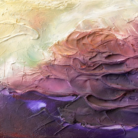 (CreativeWork) Near Light - Textured Abstract  by Victoria FitzGerald. Mixed Media. Shop online at Bluethumb.