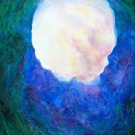 (CreativeWork) Portals into another dimension by Barbara Suttie. Oil Paint. Shop online at Bluethumb.