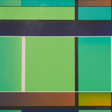 (CreativeWork) In Transition by Dean O'Callaghan. Acrylic Paint. Shop online at Bluethumb.
