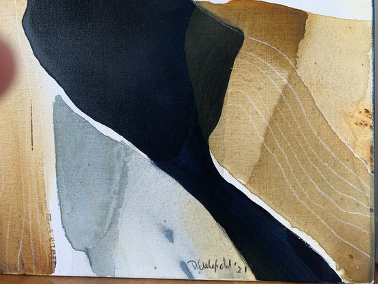 (CreativeWork) Aeracura by Dinah Wakefield. Acrylic. Shop online at Bluethumb.