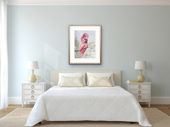 (CreativeWork) Mrs Mitchell Limited Edition Giclee Fine Art Print Ed. 1 of 50 by Annie Hawkins. Print. Shop online at Bluethumb.