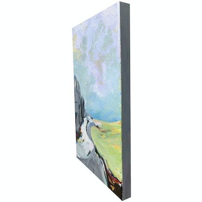 (CreativeWork) Escape by Linden Abbot. Acrylic Paint. Shop online at Bluethumb.