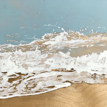 (CreativeWork) Sea Songs 2 by Jane Grierson. Acrylic Paint. Shop online at Bluethumb.